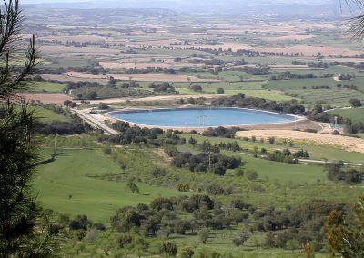 Modernización de regadíos. Sector XI del canal del Cinca. Huesca, España.