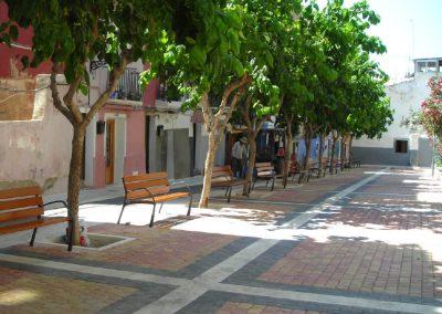 Reurbanización de C/ Costera del Mar y adyacentes en el casco antiguo de la Vila Joiosa. Alicante, España.