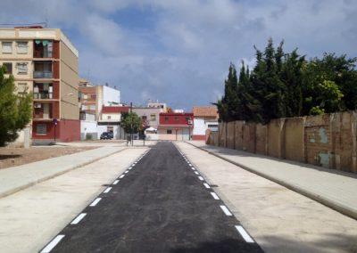 Apertura y acondicionamiento de la calle Francisco Falcons y adyacentes. Valencia, España.