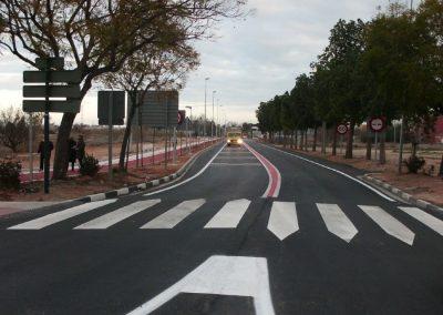 Acondicionamiento, refuerzo de firme y conexión ciclo peatonal en carretera cv-409 (tramo del Camí del Pont Nou). Valencia, España.