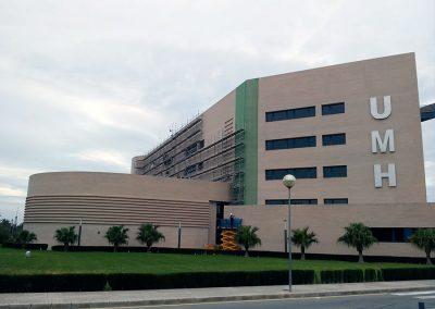 Rehabilitación del edificio de Rectorado y Consejo Social del campus de Elche. Alicante, España.