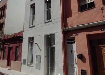 Edificio de alojamiento para estudiantes, en la c/ Marqués de Guadalest nº 7, barrio de Llamosí. Valencia, España.