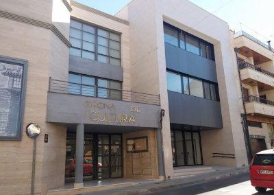 Acondicionamiento interior del Centro Cultural sito en C/ Gabriel Payá y C/ Sancho Tello, en Petrer, Alicante.