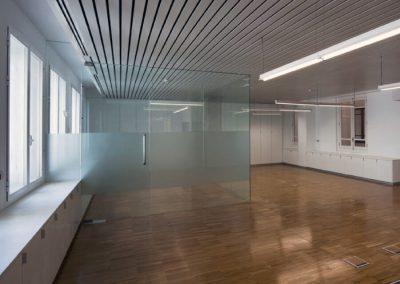 Habilitación de planta 4ª y obras de sustitución de ascensores y saneado de núcleo de comunicación del SERVEF. Valencia.