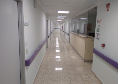 Obras de reforma de las Salas de Hospitalización B.1.3 Medicina Interna y A.3.2. Cirugía