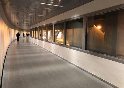 Ejecución de las obras del acondicionamiento de paso de peatones inferior Gran Vía Germanías-Ramón y Cajal