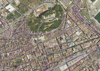 Reurbanización de un tramo de la Calle de la Mar en Dénia (Alicante).
