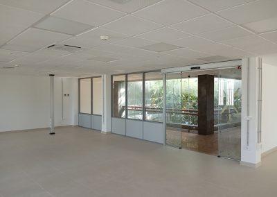 Adecuación de espacios para reubicar la secretaria del decanato de la Facultat de Ciencias Biològiques en planta 1º del edificio de decanatos del Campus de Burjassot