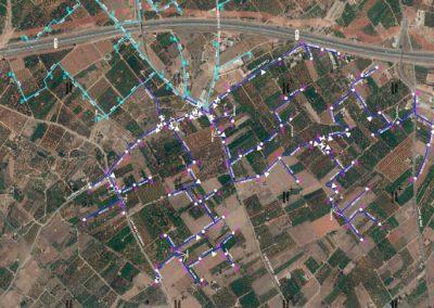 Agrupación nº 2 de Pinella modernización del riego, fase 2. Término municipal de Vila-Real.