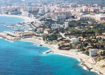 Rehabilitación borde marítimo playas Varadero, Estudiantes y Tío Roig, en el término municipal de la Vila Joiosa. Alicante, España.
