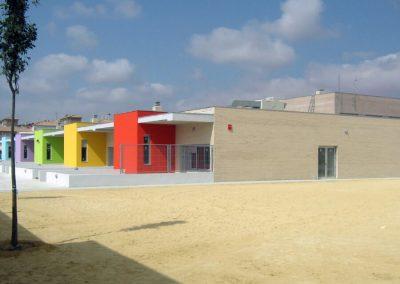 Ejecución de obra del centro de educación infantil y primaria nº 11 en Torrevieja. Alicante, España.