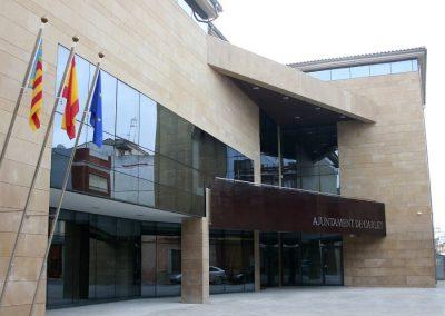 Casa Consistorial, fase IV, en Carlet. Valencia, España.