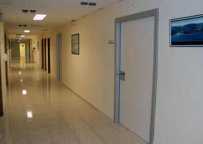 Obras para la reforma de la sala de hospitalización de neurología (B-3-2). Valencia
