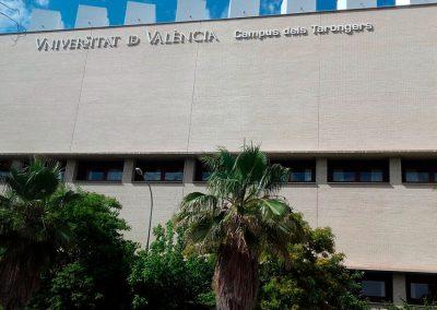Ampliación de la electrificación en el Aulario Sur del Campus dels Tarongers. Valencia