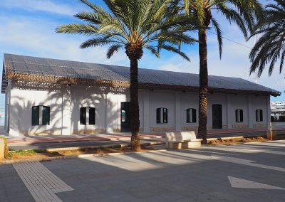 Rehabilitación de la antigua lonja para la ubicación de la nueva oficina de turismo de Dénia (Alicante).